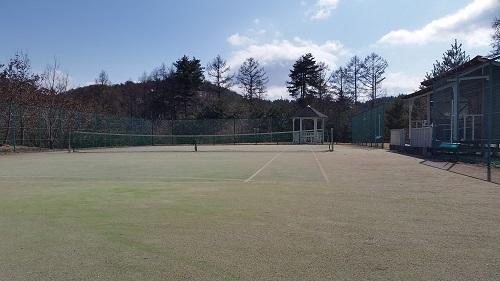 テニスコート20160225