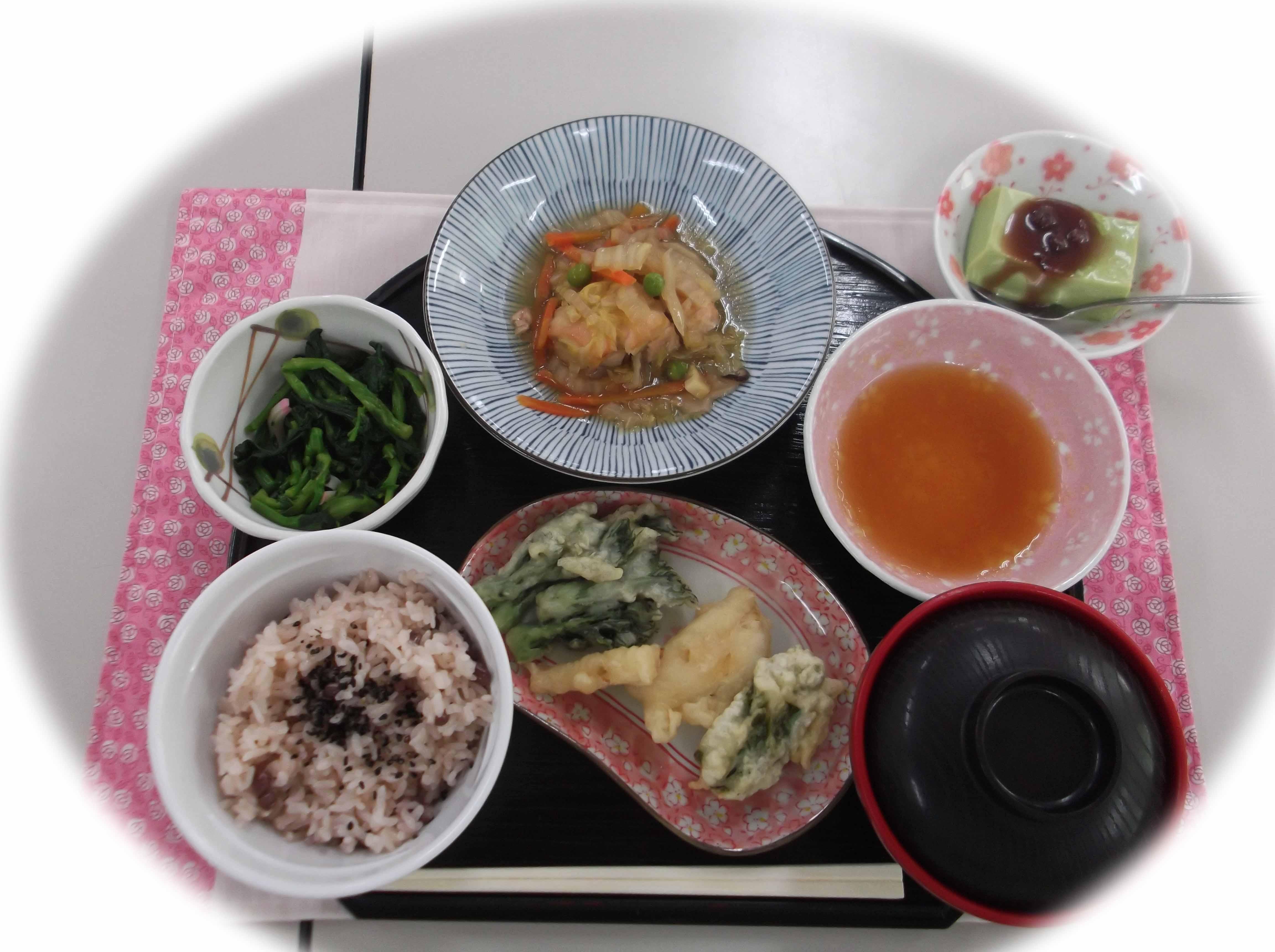 3月1日昼食