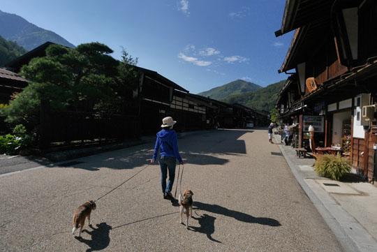100奈良井宿散歩