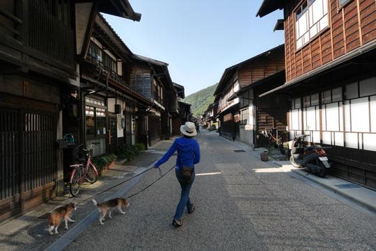 106奈良井宿へ