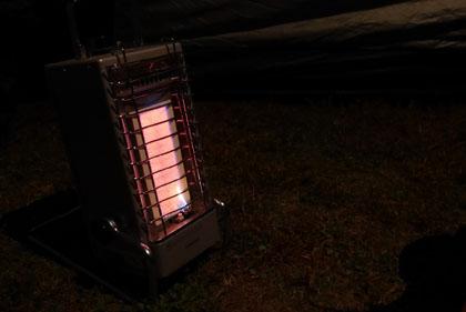 07テントに暖房