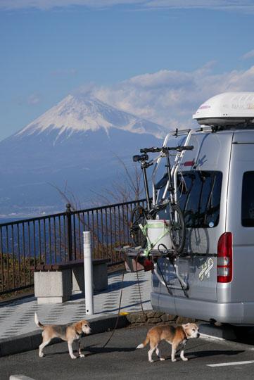 020戸田で富士山