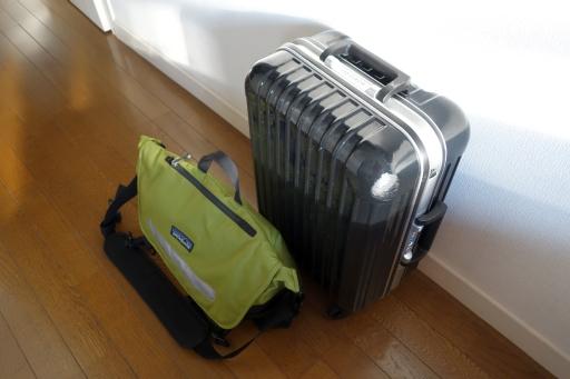 4泊旅行の荷物