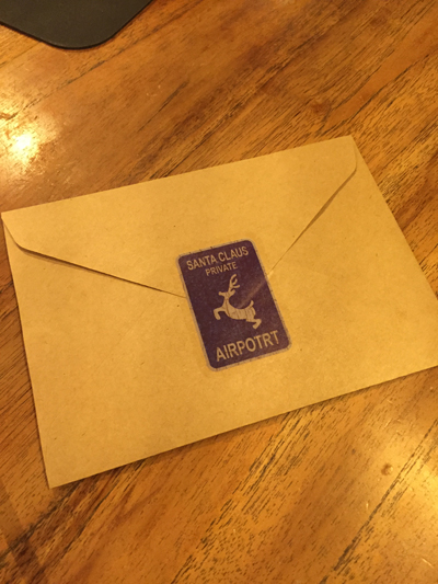 サンタさんからの謎の手紙
