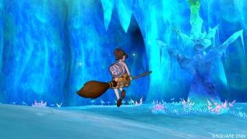 氷の世界をウロウロ中