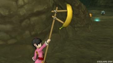 バナナの武器を装備して・・・
