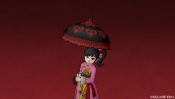 フリフリな傘
