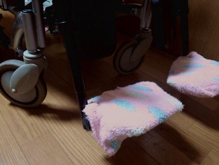 もこもこ靴下