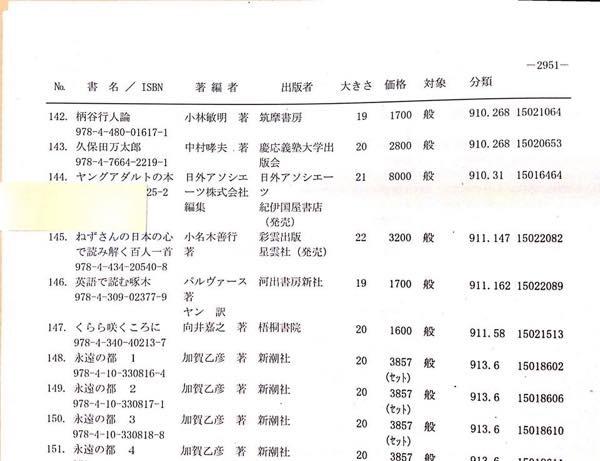 20151112 日本図書館協会選定図書2