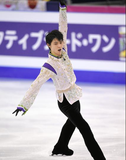 20151214 羽生結弦選手