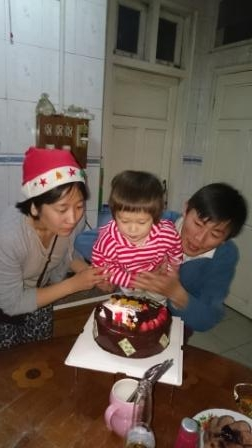 誕生日2歳