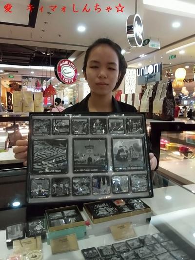 【ひとりホーチミン】34 チョコレート・グラフィックスの娘