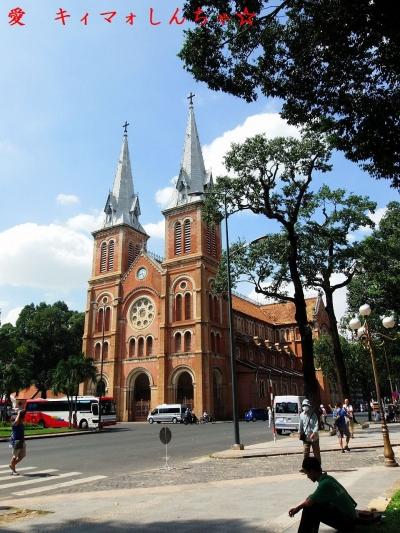 【ひとりホーチミン】48サイゴン大教会 (聖母マリア教会)