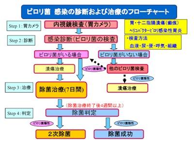 除菌チャート