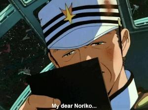 ノリコのビデオレターを見る提督