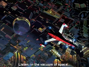 JALのシャトルとヱクセリヲンの一部