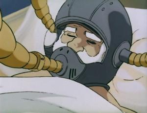 手術中の沖田艦長