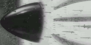 艦隊に合流するバスターマシン3号