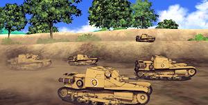 快速戦車カルロ・ベローチェ