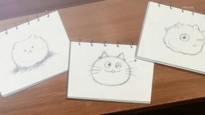 ティッピーを描いたチマメ隊の絵