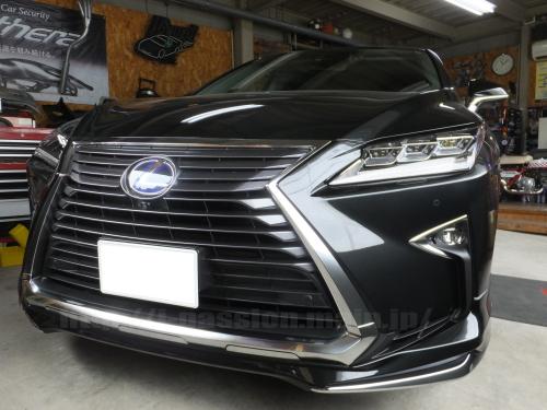レクサスLEXUS RX450h カーセキュリティ 愛知県