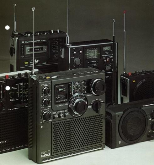 SONY ラジオ 短波