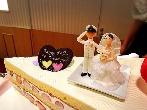 ウェディングケーキ&人形