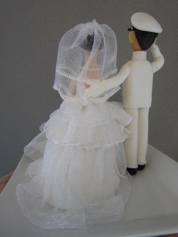 ウェディングケーキ人形4