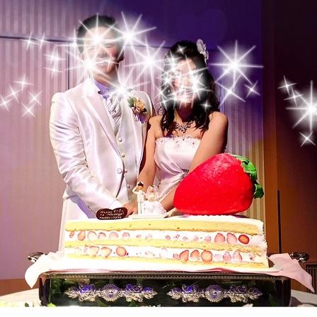 ウェディングケーキ&人形2