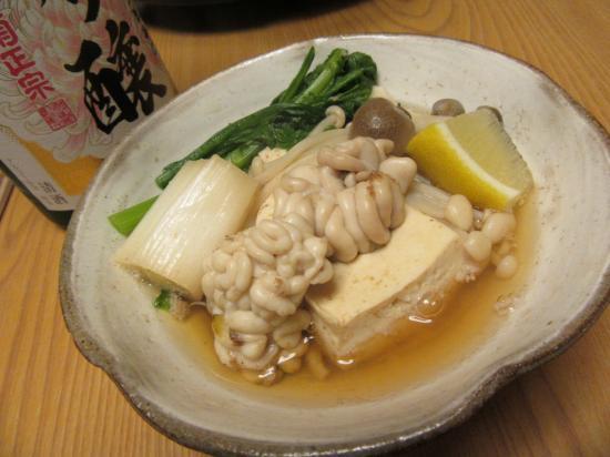 たち鍋④~with日本酒