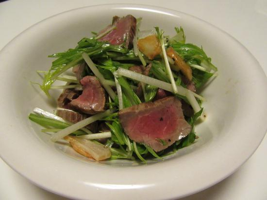 牛肉と水菜のイタリアン☆サラダ