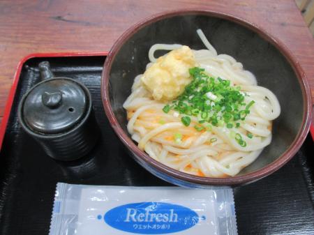釜玉うどん+チーズ天