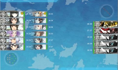 艦これ2016年冬イベント 24 E-3 輸送作戦 第1戦