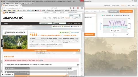 Core i7 5775C PCMark8 OpenCL有効