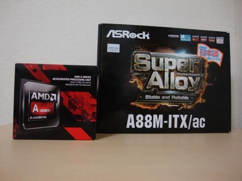 A10-7860K+ASRock A88M-ITX/ac (2016年10月9日)