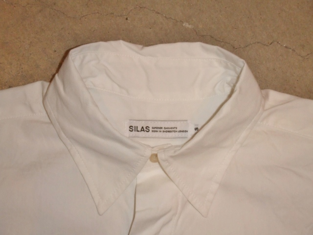 SILAS LS SHIRT SM WHITE FT1