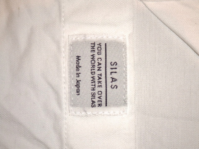 SILASLS SHIRT SM WHITE FT5