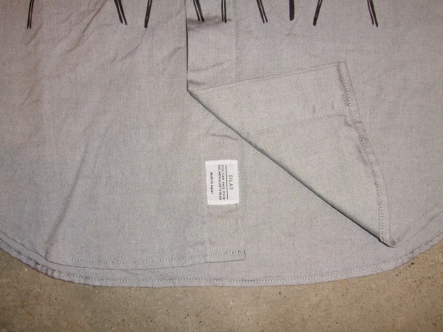 SILASLS SHIRT SM GRAY FT4