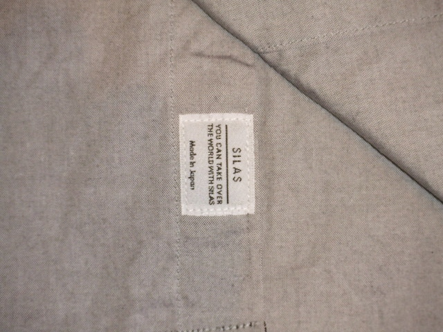 SILASLS SHIRT SM GRAY FT5