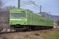 JR西日本103系(NS403)【奈良線】(20160207)