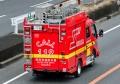 小型水槽付ポンプ車【吹田市消防本部北消防署・吹消51(日野デュトロ)】(20160306)