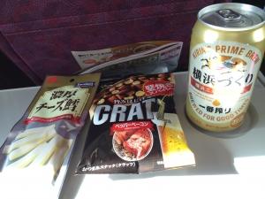 東海道線車内
