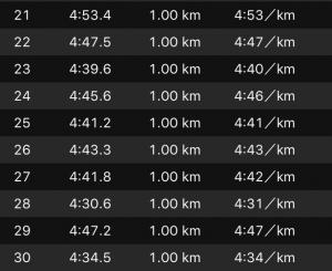 別大3週間前30km3