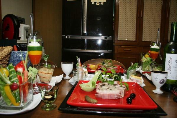 クリスマスお家ディナー