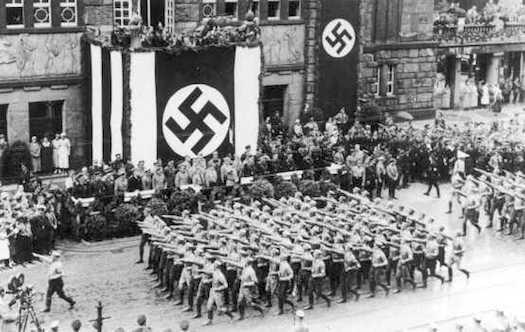 Nazis Parade
