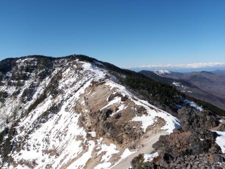 151209黒斑山~仙人岳 (42)s