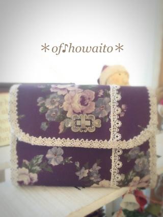 2015.12.24ハーフのお財布②YUWA紫ローズ