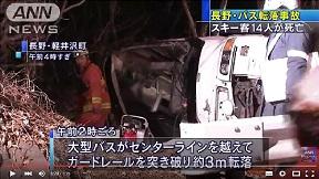 軽井沢バス転落事故
