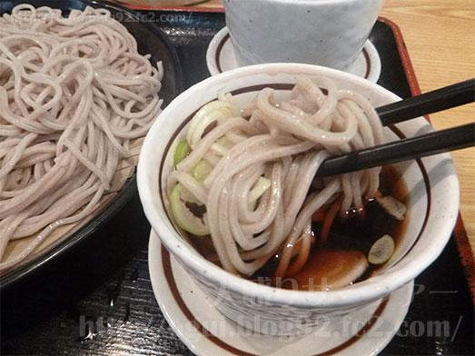 渋谷駅本家しぶそばで特盛り蕎麦019