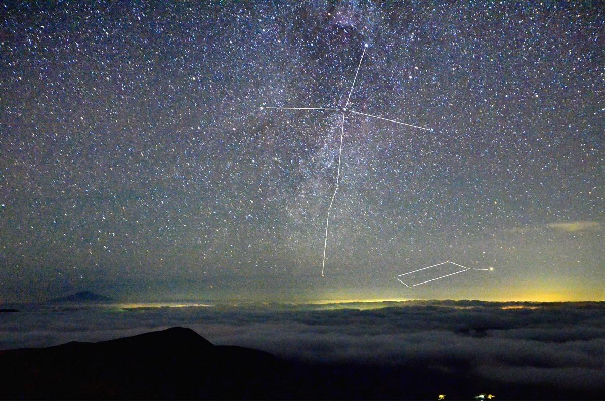 栗駒の星 105-2星座線s